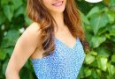 Urvashi looks adorable in the blue floral dress viewers says she looks natural